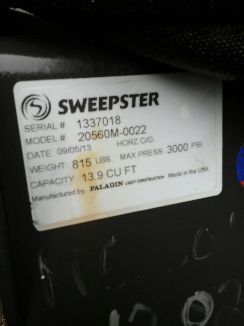 2013 Sweepster 60