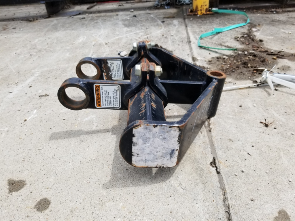 2014 Danuser 410  CWP 3 point hitch Image 3